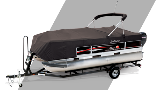 GREY BOAT COVER FITS Nitro by Tracker Marine 882 DC NX 2002 2003 2004 2005