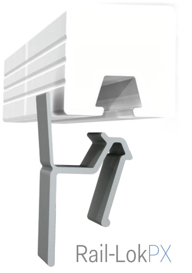 Rail Lok™ - Snapless Cover System