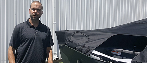 How to Alter Boat Cover for Kicker Motor